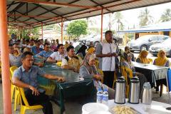 Lawatan Kerja Timbalan Menteri Kerja Raya Malaysia Ke Unit JKR KESEDAR
