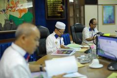 Majlis Penyampaian Sijil Penghargaan Kepada Petugas Bilik Gerakan
